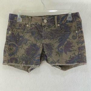 American Eagle Outfitters stretch corduroy shorts